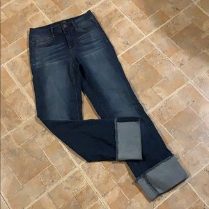 1822 high waisted skinny jeans size women's 24